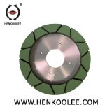 ダイヤモンドのツールはのための樹脂結ぶダイヤモンドの粉砕車輪(連続的な縁250-300mm)を