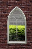 Зеркало сада утюга сбор винограда стеклянное для домашнего украшения