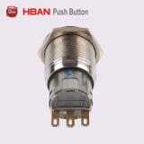 Hban Cer RoHS 2position (19mm) mit Pfeil-Anzeiger-Metallauserwähltem Schalter