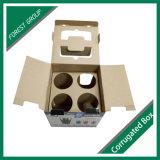 삽입을%s 가진 상자를 포장하는 물결 모양 컵을 주문 설계하십시오