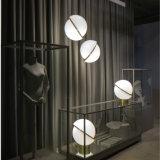 Lustre moderne personnalisé forme Balle acrylique créatif fer lampe de la poignée de commande