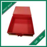 Casella di carta impaccante di ordine su ordine con il nastro di colore