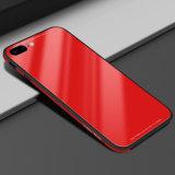металл Tempered стекла Падени-Доказательства случая iPhone на iPhone 8