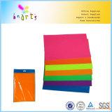 Красно-оранжевый флуоресцентный бумаги