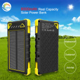 Chargeur solaire de la batterie Li-ion 8000mAh de côté de pouvoir de panneau solaire