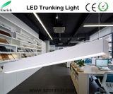 Подвешенные линейных транкинг 120мм 18W серебристая поверхность рамы алюминиевые накладки линейные лампы