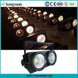 Dois Eye 2X100W luz PAR DE ESPIGAS com LED branco