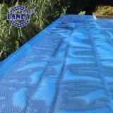 La piscine en plastique bâche de piscine solaire
