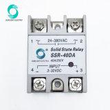 Rss-40da 40A Comando 3-32V DC OUTPUT 24-380V AC SSR relé de estado sólido