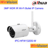 3MP Dahua Ipc-Hfw CCTV1320s-W Mini-Bullet IP Camera WiFi de Segurança Sem Fio