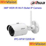 Dahua 3MP CCTV IpcHfw1320s Wの小型弾丸IPの無線機密保護のWiFiのカメラ