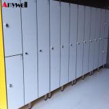 Gemaakt in Kasten van de Garderobe van het Staal van de Kast van de Deur van de Kasten van de Deuren HPL van China de Compacte Gelamineerde 2 Dubbele