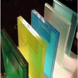 다채로운 PVB의 박판으로 만들어진 유리