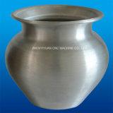 Производство алюминия в горшочках используется мини-вращение металла с ЧПУ станок (легких 980B-6)