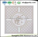 El Recubrimiento de rodillos de aluminio ignífugo techo decorativo de impresión con la norma ISO9001