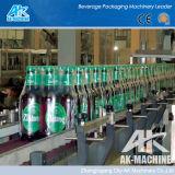 Автоматическая заправка жидкости машины /стеклянных бутылок пива заполнения машины