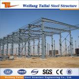 Construction préfabriquée de structure métallique faite par l'usine de la Chine du hangar en acier