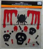 Блестящие цветные лаки Хеллоуин окна техническим вазелином оформление/гель наклейки