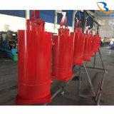 OEM Hydraulische Cilinder van 20 Ton van de Dienst de Reuze met Flens