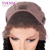 Новые моды парики 180% плотность скручивание Малайзии кружева Wig человеческого волоса парики для чернокожих женщин бразильского Virgin волос
