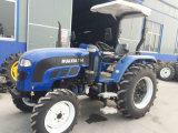 тракторы фермы 55HP 60HP 70HP 80HP катят земледелием, котор с кабиной Ce A/C