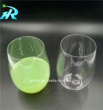 Rotwein-GlasStemless Wein-Plastikcup des Haustier-4oz