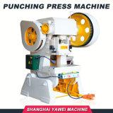 J23-16 Yawei Aluminiumfolie-Kappelochende Prow-Presse-Maschine