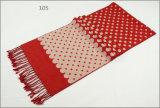 Kasjmier van de Vrouwen van mannen voelt het Unisex- Omkeerbare Sjaal van de Druk van de Winter de Warme Gebreide Geweven dik (SP819)