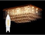 LEDの水晶ランプのための熱い販売法LED G9の蝋燭の球根