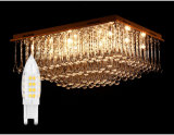 Hot vender G9 LED Bombilla vela para LED lámpara de cristal