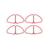 Fantôme Dji Elven 4 4 Retirez la bague de protection Rapide (rouge) La moitié de la boucle