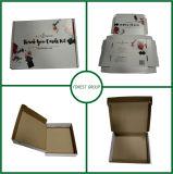 再生利用できる習慣によって印刷される波形を付けられた折られたボックス