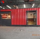접히는 콘테이너 집 건축 Prefabricated 호화스러운 살아있는 콘테이너 집