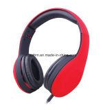 専門のヘッドバンド様式のステレオ音楽Headset ワイヤーで縛られた安いOEMのヘッドホーン