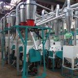 La farine de blé de mouture du maïs le maïs Grits de décisions de la machine de traitement de l'usine d'une meuleuse