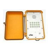Système industriel d'appel au secours de téléphone du téléphone IP66 imperméable à l'eau de SIP