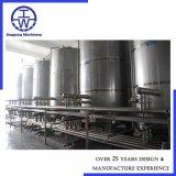Tanque de armazenagem de aço inoxidável SUS304/316L Recipiente de armazenagem com o agitador 100L 200L 500L 1000L 2000L 5000L