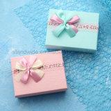 El papel de vinilo personalizado Caja de regalo de bodas para el chocolate y caramelo