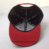 6つのパネルの平らなピーク調節可能な急な回復の帽子が付いている卸し売り方法3D刺繍のHip Hopの帽子