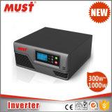 Инвертор силы держателя шкафа 300W 600W 800W 12V с заряжателем AC