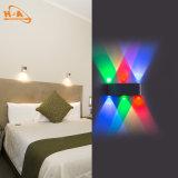 Indicatore luminoso della parete di alta qualità 8W Colourfull del nuovo prodotto per il giardino