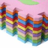 De multifunctionele Mat van de Vloer van de Tegels van het Spel van de Mat van het Schuim van EVA Antislip