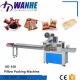 Pan Pillow-Type almohada envoltura automática Máquina de embalaje