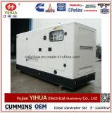 26kw/32,5 kVA en silencio Generador Diesel con EPA Motor Yanmar 4TNV98-ESN (5-45kW/6.25-56.25kVA)