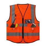 Строка высокой вязкости светоотражающие безопасность работы майка с карманами