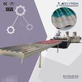 O PVC+ASA/linha de produção de telhas onduladas de PMMA