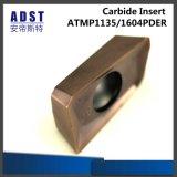 Жесткость 45 HRC Apmt1135pder R0.4 вставки из карбида кремния