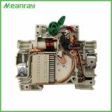 Tipos de Fase Única Meanray Protector do circuito 250V mini chave de disjuntor MCB DC 63A