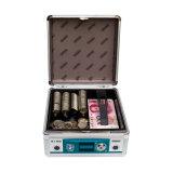 Boîte de trésorerie de l'aluminium de couleur argent avec verrouillage de sécurité