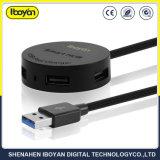 4 порта USB для мобильных телефонов зарядные устройства с помощью кабеля USB